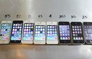 iPhone 5s vs. iPhone 5c, 5, 4s, four, 3GS, 3G and 2G: efficiency comparability take a look at [video]