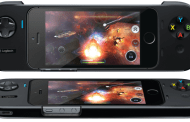 Logitech showed its first game controller for iPhone