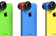 Olloclip introduced a line of interchangeable lenses three-in-1 for iPhone 5c