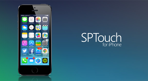 SPTouch for iOS 7 to replace the broken Home button and Power Button