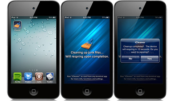 Icleaner pro without jailbreak -
