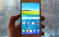 Samsung Galaxy S5 spotted a few hours before the presentation