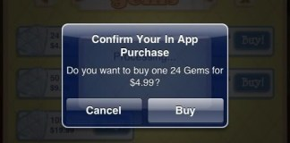 In-app-game-purchase
