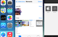 How to close all applications on iOS 7 multitasking panel with one click
