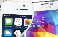 Samsung Galaxy S5 vs iPhone 5s: design, display, applications, features
