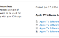 Apple released the Apple TV firmware 7 Beta 1