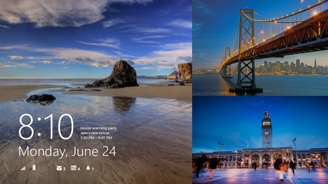 lockscreen - Windows 8.1