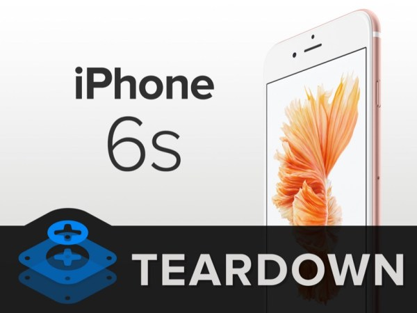 iPhone 6 s teardown