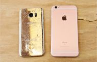 iPhone 6s Plus vs. Galaxy S7 Edge: drop test