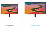Apple Cut Down The Price Of 4k And 5k LG Displays By 25%