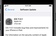 Apple Releases iOS 11.0.1 With Bug fixes Update