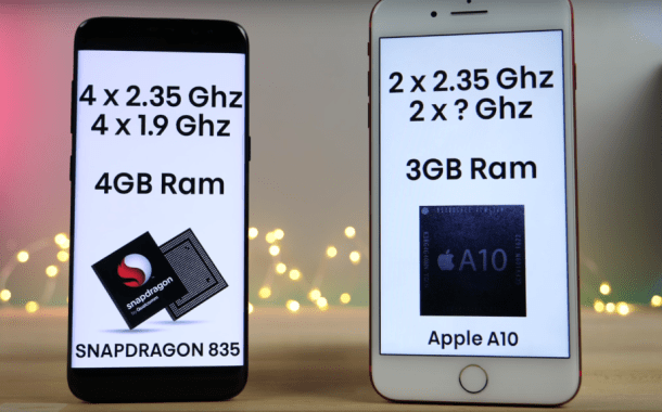 iPhone 7 Plus With 3GB RAM VS. Samsung Note 8