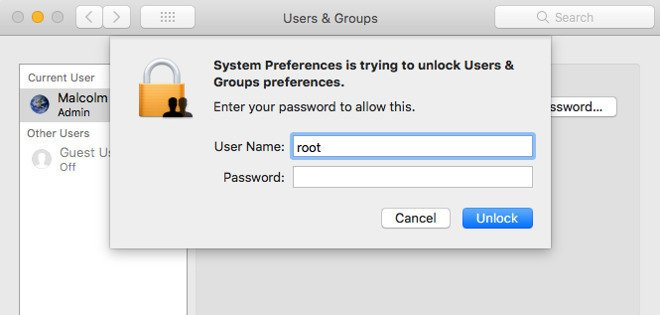 Apple Releases macOS High Sierra Security Update 2017-001 To Fix Root Login Bypass