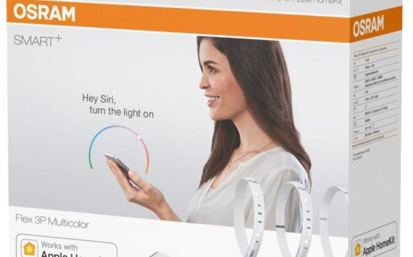 Sylvania Released Osram Smart + Flex: New LED strip With HomeKit Support