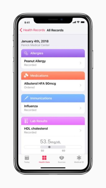 iOS-11.3-health-record-integration