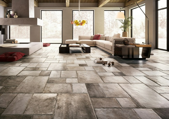 Floor Living Room Floor Tiles Impressive On And 33 Extraordinary ...