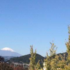 蒼天の富士山 現代教養の授業から