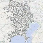 これは凄い!面白い!江戸後期 武蔵・相模国 村名マップ