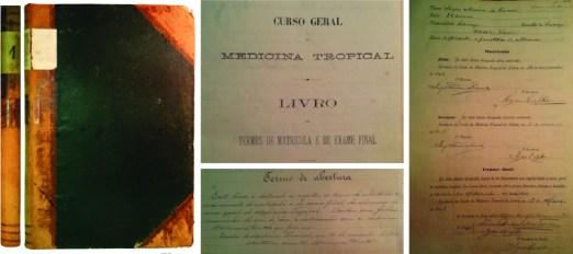 Primeiro Livro de Termos da Escola de Medicina Tropical
