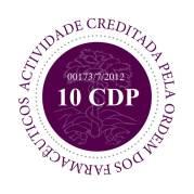Logotipo de creditação do Mestrado em Parasitologia Médica pela Ordem dos Farmacêuticos