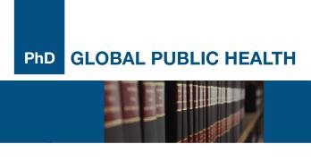 10 bolsas de estudo disponíveis para PhD Global Public Health! Inscrições abertas!