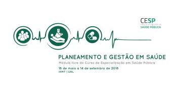 Planeamento e Gestão em Saúde: Candidaturas abertas!