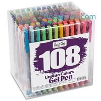 ihocon: Lineon 108 Colors Gel Pens