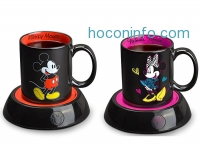 ihocon: Disney Mickey Mouse Mug Warmer, Black/Red