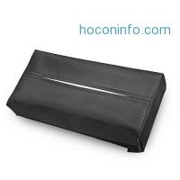 ihocon: Rectangular PU Leather Tissue Box Holder人造皮面紙盒套