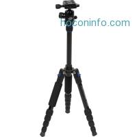ihocon: Davis & Sanford Traverse TR-553-228 Compact Aluminum Tripod with Ball Head