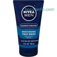 ihocon: NIVEA Men Maximum Hydration Moisturizing Face Wash 5 Fluid Ounce(Packaging May Vary)