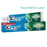 ihocon: Crest Complete Multi-Benefit Whitening + Scope Outlast, Mint Toothpaste, 5.8 Oz