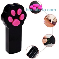 ihocon: Mimibox Paw Style Cat Catch the Interactive LED Light 寵物互動玩具