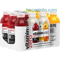 ihocon: vitaminwater zero variety pack, 20 fl oz, 12 Pack