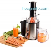 ihocon: Chef's Star Juc700 Juicer Wide Mouth Fruit and Vegetable Juice Extractor榨汁機
