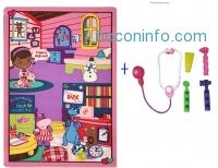 ihocon: Disney Carnival Doc McStuffins Play Mat w/ Doctor's Play Set, 32x44