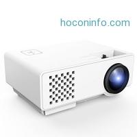 ihocon: DBPOWER RD-810 LED Portable Projector家庭劇院投影機