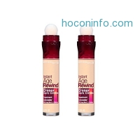 ihocon: Maybelline Instant Age Rewind Eraser Dark Circles Treatment Concealer, Light, 2 Count