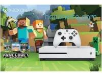 ihocon: Xbox One S 500GB Console - Minecraft Favorites Bundle