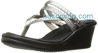 ihocon: Skechers Cali Women's Rumblers 38559 Wedge Flip Flop