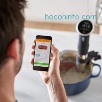 ihocon: Anova Culinary Sous Vide Precision Cooker Bluetooth, Immersion Circulator, 800 Watts, Black