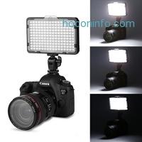 ihocon: Craphy Dimmable LED Light On Camera光線微調LED攝影補光燈