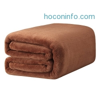 ihocon: LANGRIA Luxury Flannel Blanket, 60 x 80毛毯
