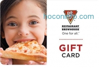 ihocon: $50 BJ's Restaurant & Brewhouse Pizza Gift Cards - E-mail Delivery
