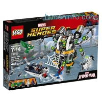 ihocon: LEGO Super Heroes 76059 Spider-Man: Doc Ock's Tentacle Trap Building Kit (446 Piece)