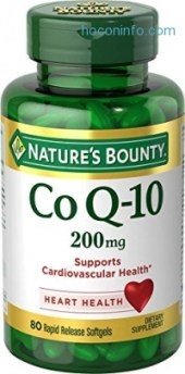 ihocon: Nature's Bounty Co Q-10 200 mg, 80 Tablets