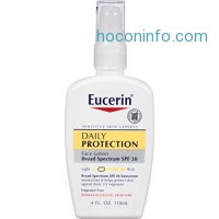 ihocon: Eucerin Daily Protection Face Lotion SPF 30 4 oz
