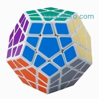 ihocon: Megaminx Speed 12 Sided ABS Ultra-smooth Professional Speed Magic Cube Puzzles魔術方塊