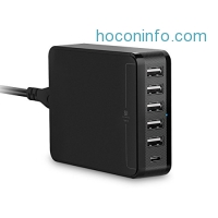 ihocon: Jelly Comb 6-Port USB Charger充電器