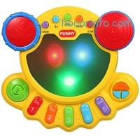 ihocon: KAWO Musical Drum Toy Baby Beats Musical Toy兒童音樂玩具